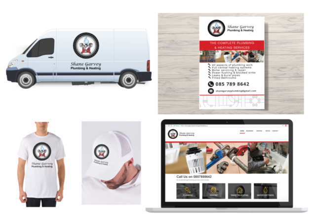 Promotional materials plumbing company